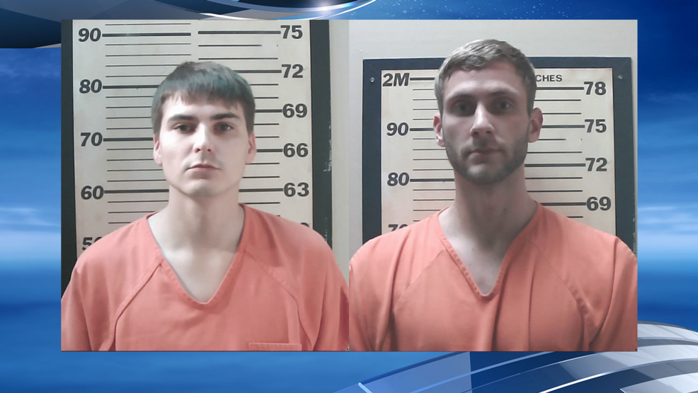 2 from Arkansas arrested after 'Woo Pig' spray-painted on