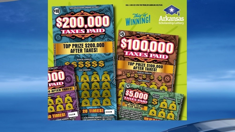 Arkansas Scholarship Lottery offers to pay taxes on new scratch-off