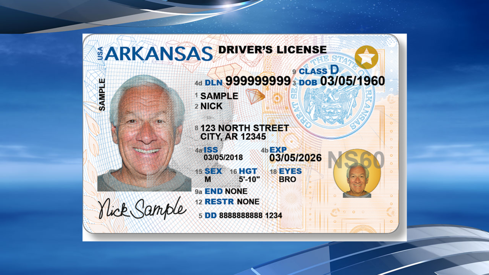 Roll Driver's Licenses To Out Redesigned Katv Arkansas