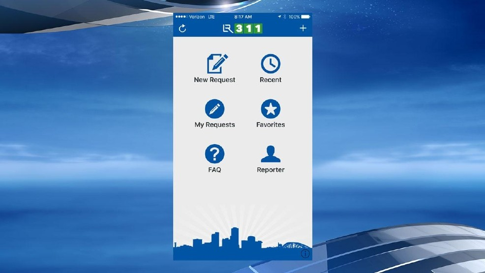 Little Rock 311' app allows residents easy access to city services