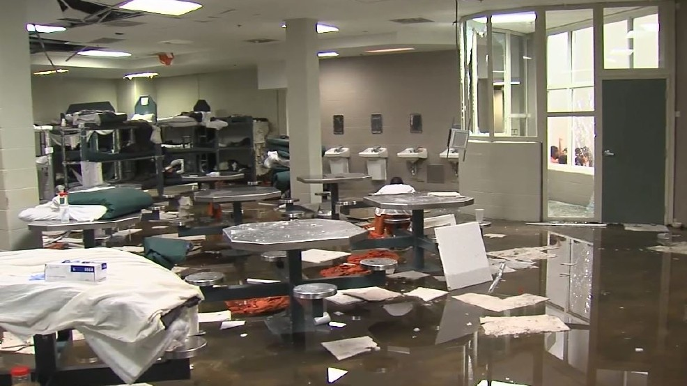 Riot at Jefferson County Detention Center causes hundreds of