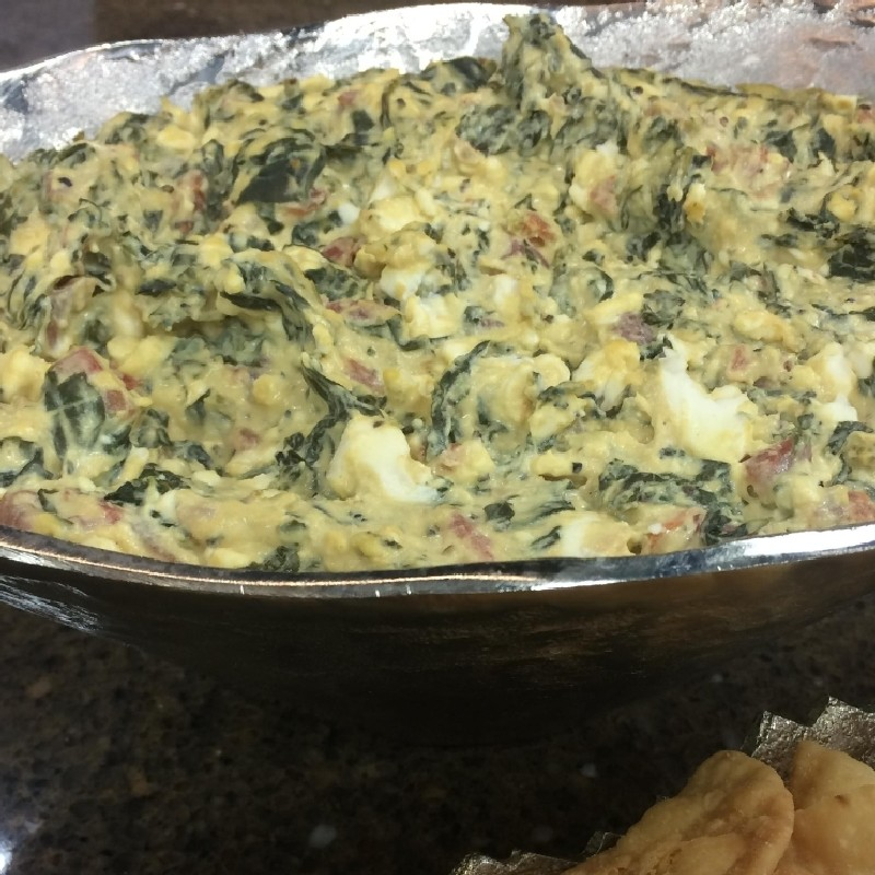 Hot Spinach Dip Katv