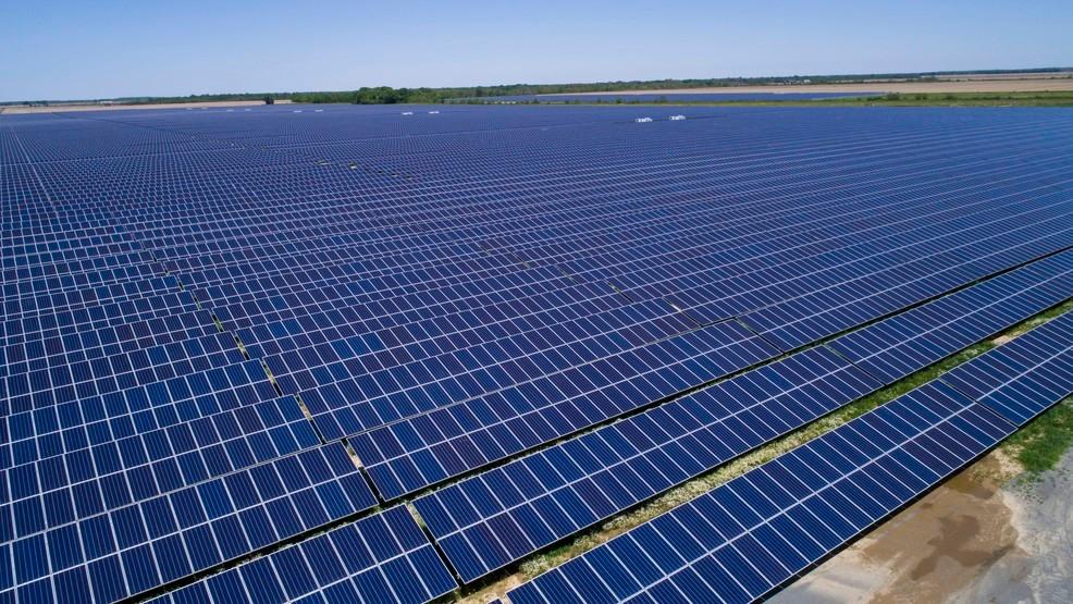 Largest solar farm in Arkansas ready for use   KATV